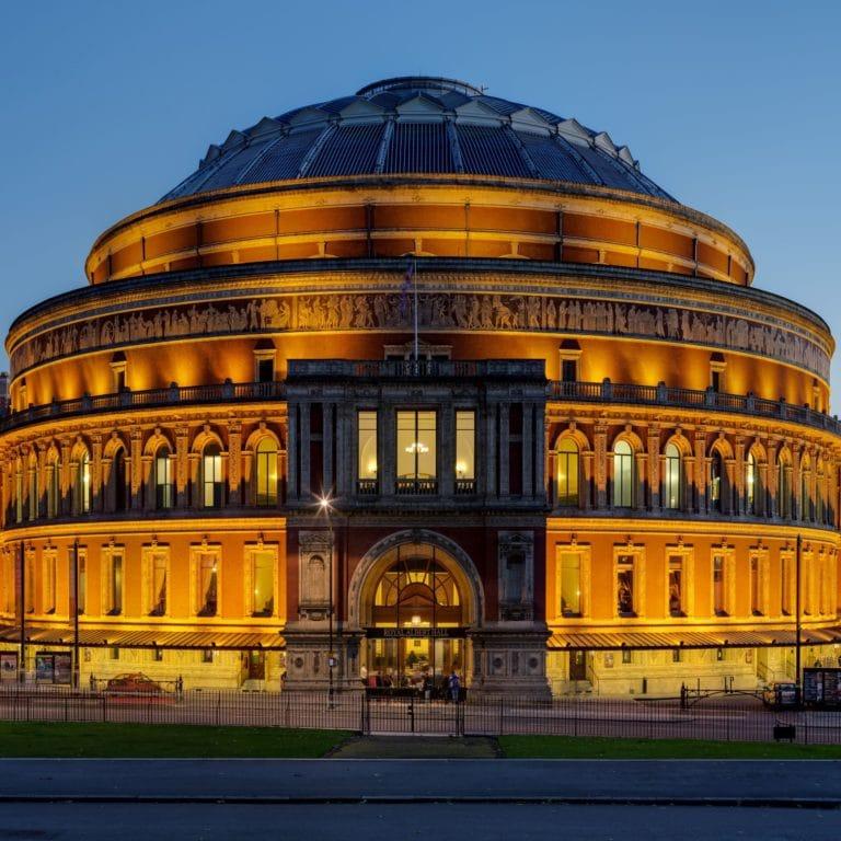 Royal Albert Hall Michael Lonsdale Group